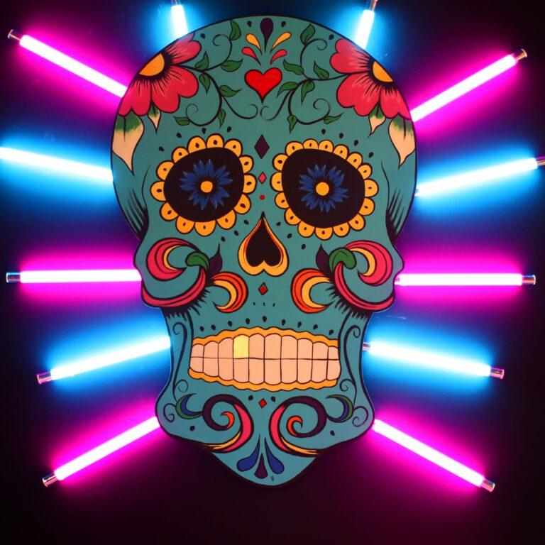 Neon Lichter weisen dir den Weg von der Piste direkt ins Wohnzimmer